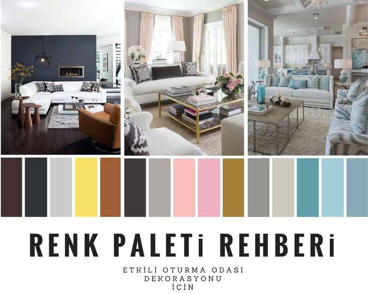 Etkileyici Oturma Odası Dekorasyonu İçin 7 Farklı Renk Paleti Rehberi