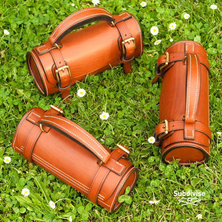 Sacoche horizontale pour 3 boules de pétanque