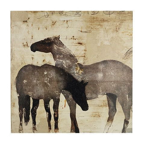 Love the Simplicity of these Rustic Horses  by patrick wright