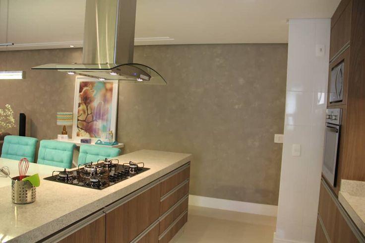 Cozinha Integrada: Cozinhas modernas por Padoveze Interiores