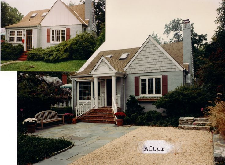 Cape Cod Expansion Renovation Silver Spring Md Exterior Paint Colors Pinterest Home