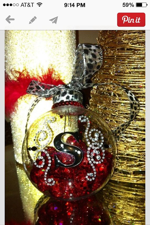 Diy Christmas Ornaments Etsy : Homemade rhinestone christmas ornaments on etsy