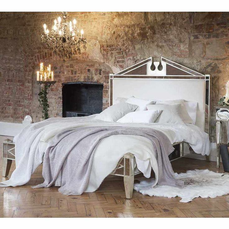 Top 25 ideas about mirror bed on pinterest dream King size bedroom set with mirror headboard