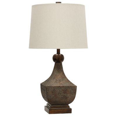 "World Menagerie Shawn Transitional Resin Base 31.5"" Table Lamp"