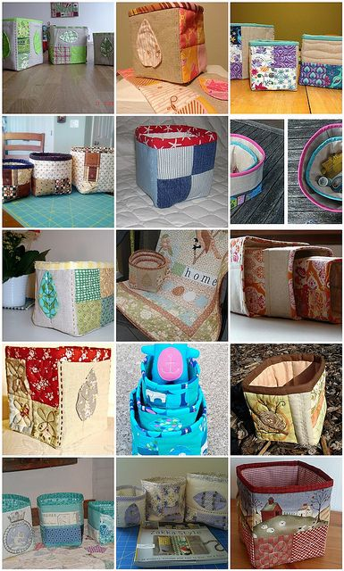 Zakka Sew Along Week 24, Nesting Boxes by LRstitched, via Flickr