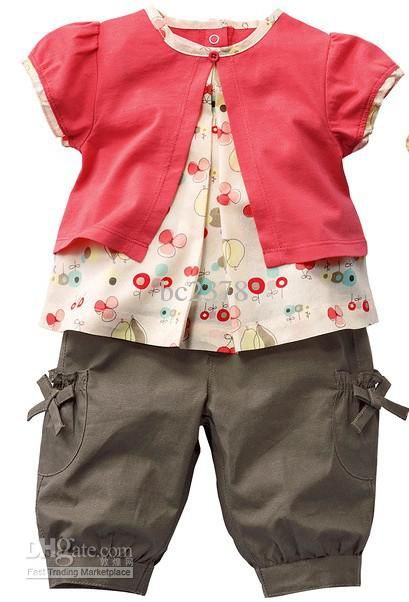 SO adorable! infant baby girl clothes