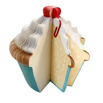 Bloquinho de Anotações Cupcake - Presentes Criativos