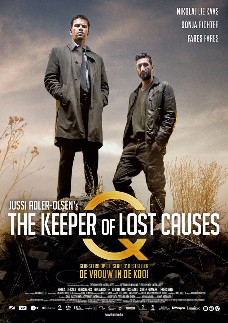 The Keeper of Lost Causes *** Movies Pinterest Lost