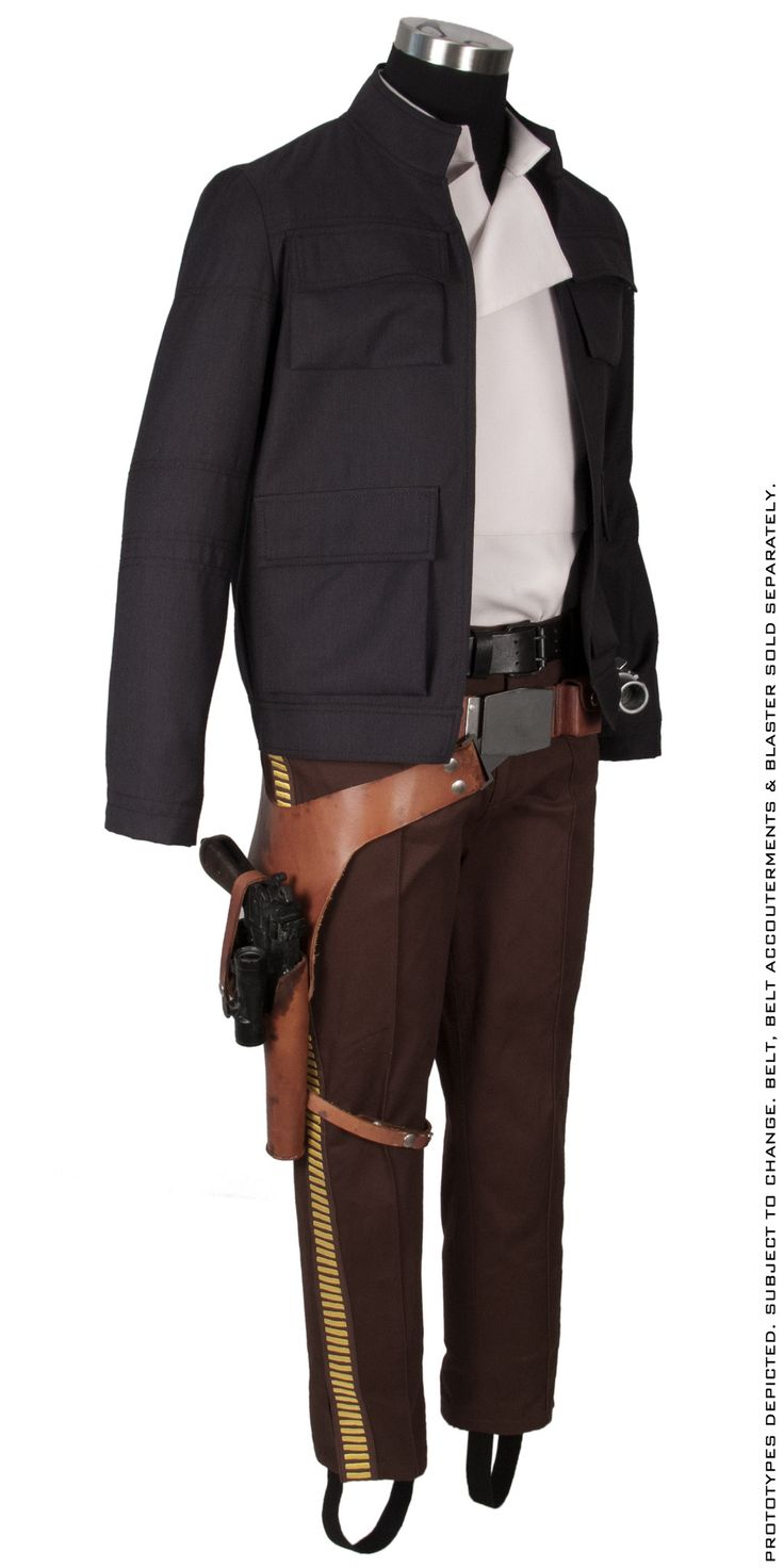 "Star Wars: Empire Strikes Back Han Solo ""Bespin"" Clothing Replica Ensemble"
