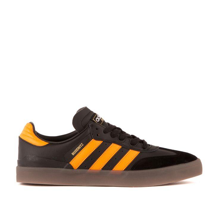 adidas Busenitz Vulc Samba Edition (Schwarz / Orange) #lpu #sneaker #sneakers