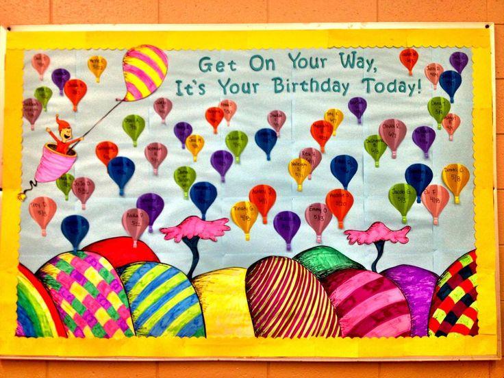 Toddler Birthday Bulletin Board Ideas | Bulletin Boards ...