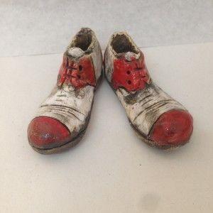 Ceramic Clown shoes | Cretan Mementos