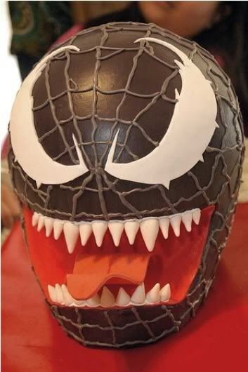 Black spiderman cakes - photo#44