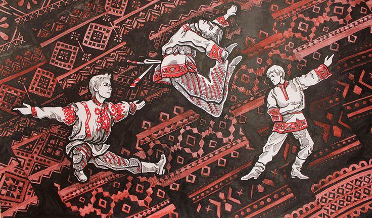 Design Festival of Slavic culture on Behance