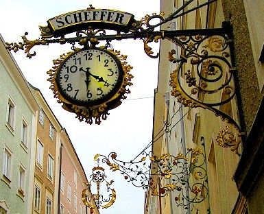 Bucket list item: Find all of the wrought iron Guild Signs, Salzburg, Austria! See more: http://www.gypsynester.com/christmas-cruise.htm #travel #austria #europe