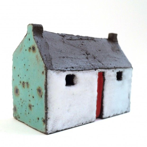 Pauline Montgomery, Blackroof House I, Ceramic   Scottish Contemporary Art