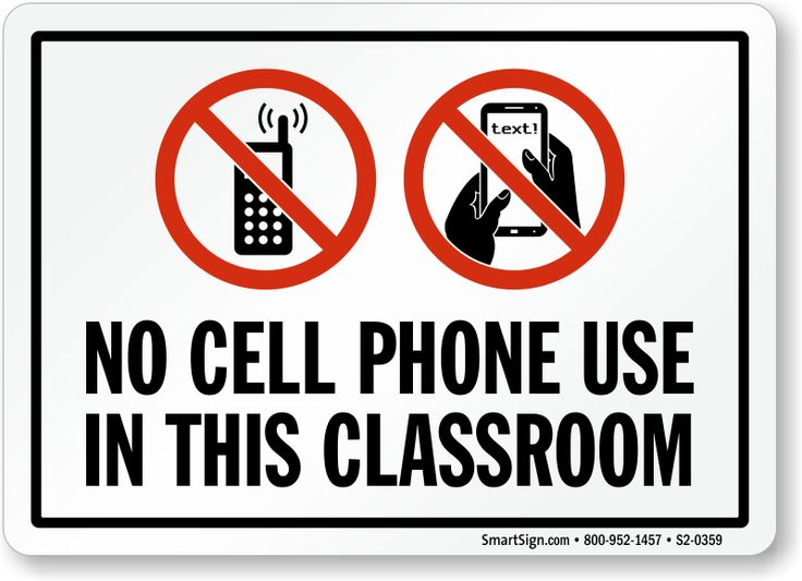 photo about No Cellphone Sign Printable titled No mobile telephones within college or university