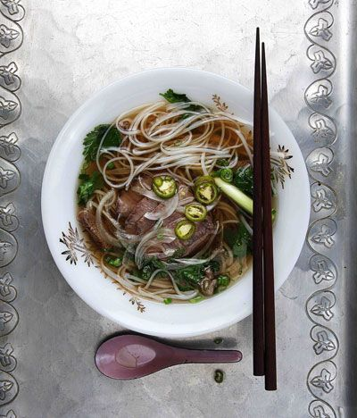 Pho Bac We Also Recommend Hong Shao Niu Rou Mian (Taiwanese Beef Noodle Soup) This heady Northern Vietnamese-style beef and rice-noodle vers...