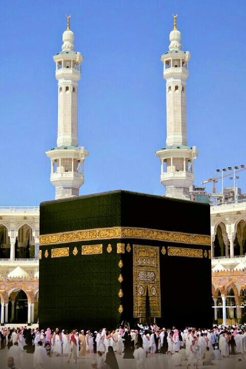 SUBHANA ALLAH how beautiful Kaba sharif is www.yaALLAH.in yaALLAHpicture #yaallahdua #imranraza