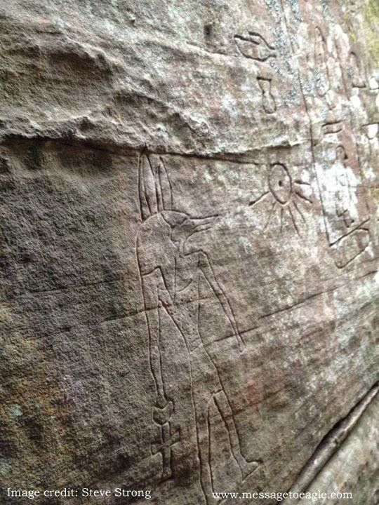 Mysterious gosford glyphs remarkable ancient egyptian