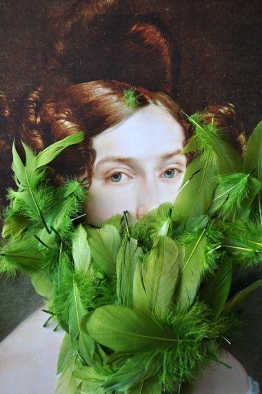 FaceGame Francesco Hayez Countess Luigia Douglas par Solange Abaziou essais visuel pour Le Quai Angers