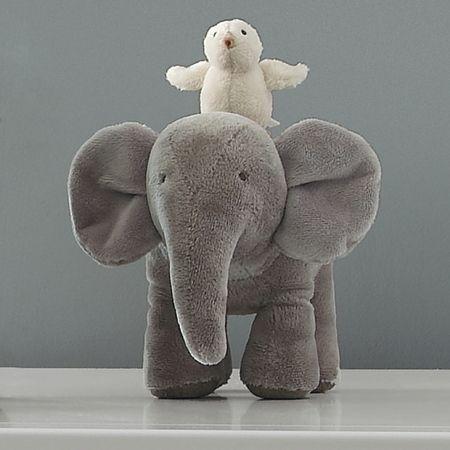 Peluche musicale éléphant