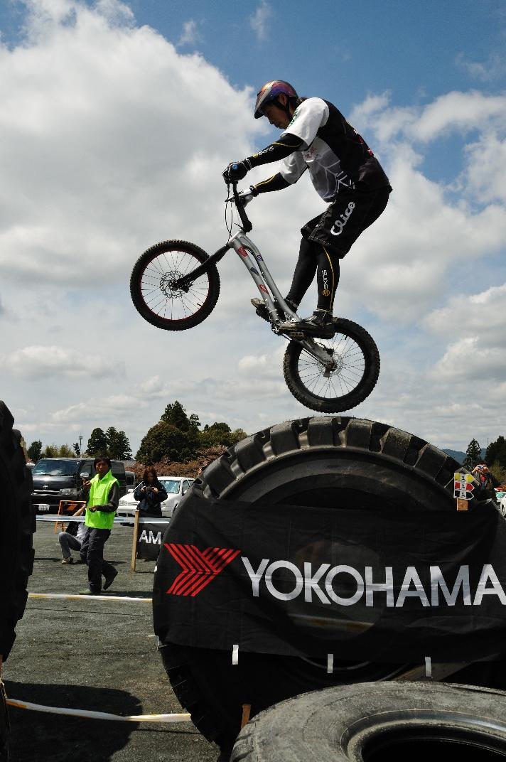 JBTAの大会 自転車