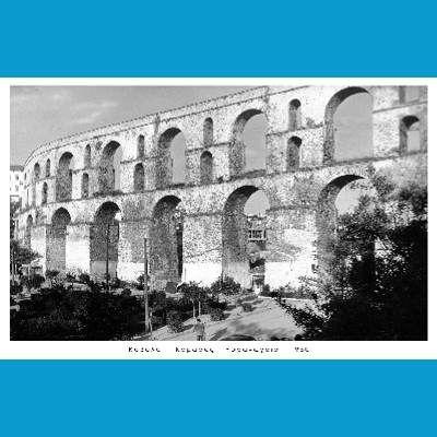 • Καβάλα / Kavala, Greece > Καμάρες (Παλιό Υδραγωγείο)  {1960}