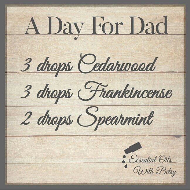 Thankful for the Dads in my life... Happy Father's Day!!! Enjoy #diffusing this…