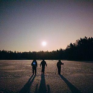 Moonlight Walk in Nuuksio National Park