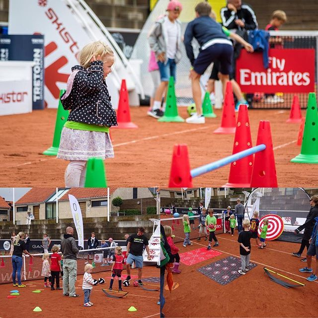 Visit moveq.org to find out how you can support your child's motor and cognitive development. MoveQ stimulates the desire to move in a playful and safe environment that children love. MoveQ at Swedish Open, ATP & WTA tennis tournament Kids Day in Båstad, Sweden 2016. #moveq #mq #3dfunction #feelbetter #movebetter #performbetter #move #learn #grow #live #playful #fun #challenge #success #fun2move #cool2move #master2move #motordevelopment #cognitivedevelopment #scientificbased #measurable…