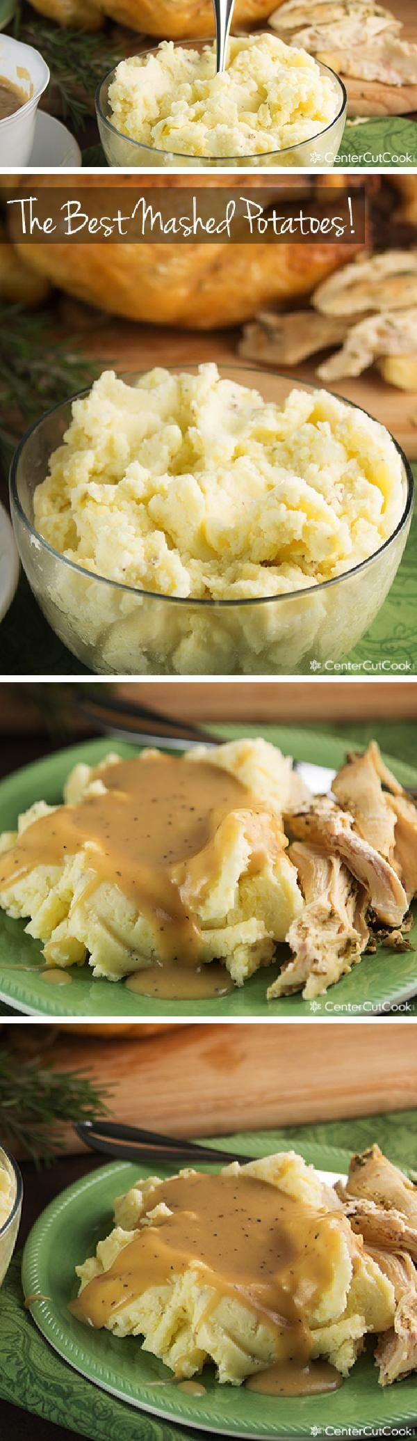 Everybody has THEIR favorite way of preparing MASHED POTATOES: with skin, without skin, with milk, without milk, with cream cheese or sour cream. THE options are endless! This combination of ingredients in this recipe results in THE BEST MASHED POTATOES!