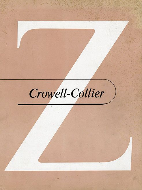 There is a tradition among publishers to celebrate their typefaces through notices and other means. Crowell-Collier went the extra mile for Times New Roman.1