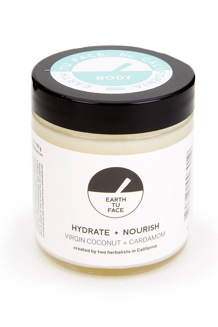 Earth Tu Face Body Butter with Coconut Oil and Cardamom