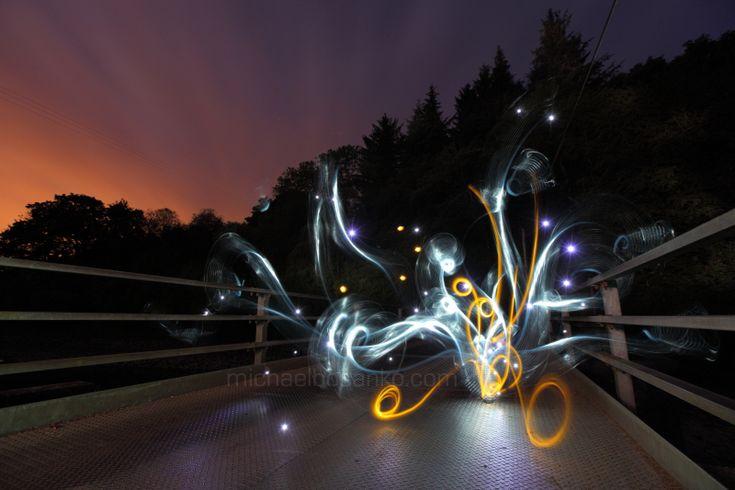 Light Painting - Light graffiti - Michael Bosanko - 20/06/2011
