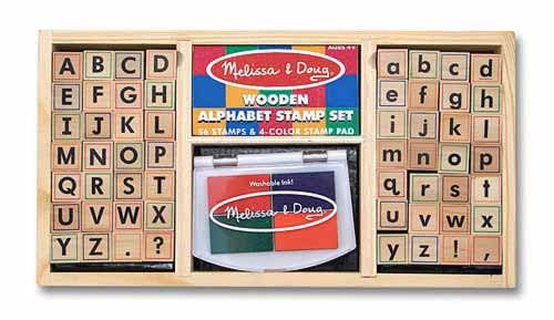 Alphabet Stamp Set - Melissa and Doug!  I want this for my sight word/literacy/writing area! :)