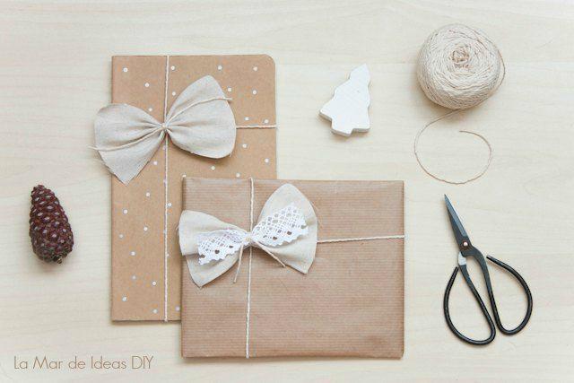 7 propuestas para envolver regalos de forma original - Envolver regalos de forma original ...