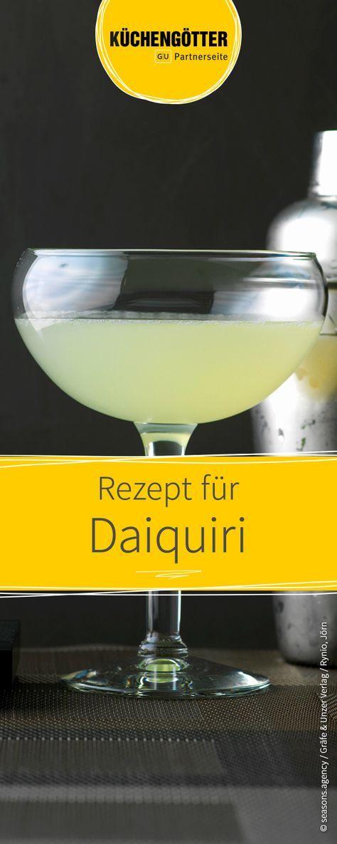 """Der Daiquiri war einer der Lieblingsdrinks des US-amerikanischen Schriftsteller Ernest Hemingway, gerne auch in der """"Frozen""""-Variante. Wir haben das schnelle Rezept."""