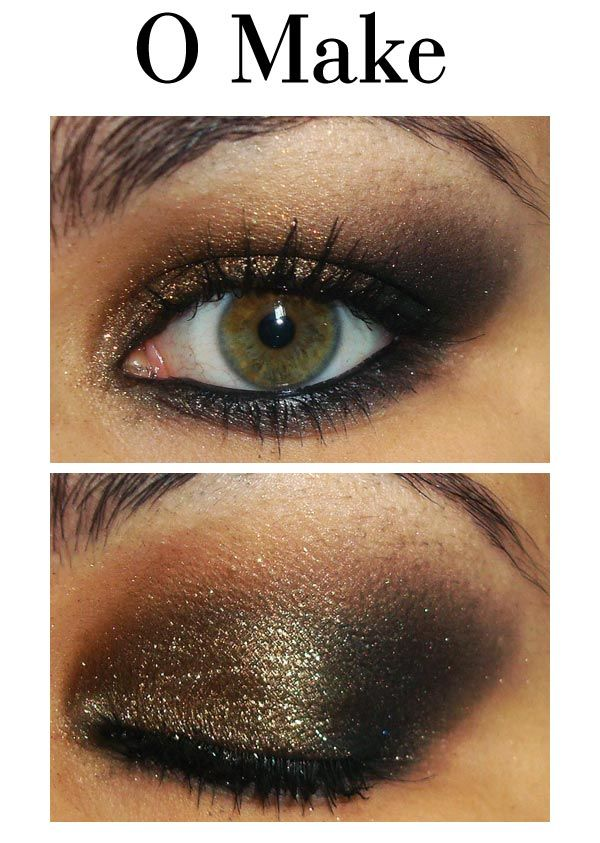 Looks like Laura Mercier Black Karat eyeshadow wash over the black eyeshadow. I feel like I have done this before, usually use Laura Mercier Black Gold eyeliner along lower lashline too. Love this!