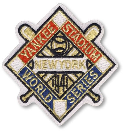 1941 New York Yankees MLB World Series Championship Jersey Patch