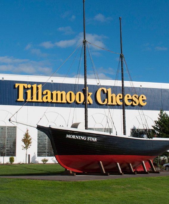Tillamook cheese factory. Tillamook, Oregon
