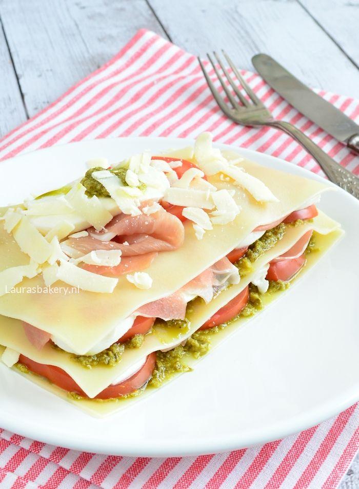 caprese lasagne salade 1-a
