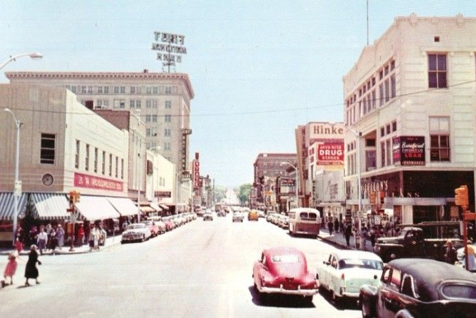 Old Classic Cars >> Route 66 Central Ave Albuquerque, NM 1940's | Classic US ...