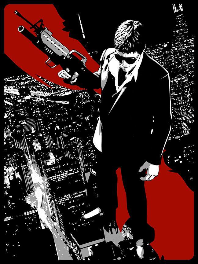 Scarface - Stephen Sampson (aka The Dark Inker) ----