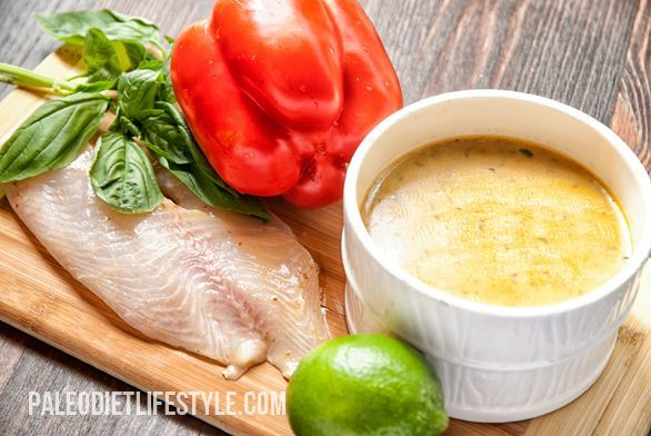 Tilapia With Thai Curry | Paleo Diet Lifestyle