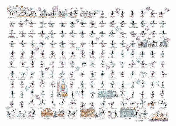 """Puzzle """"Scuola di danza"""". #formiche #puzzle #scuola #danza #dancing #ballerina"""