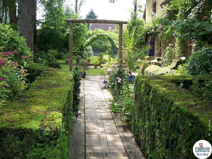 Jardin de la Bergeraie à Crozant - Crédits : ADRT23