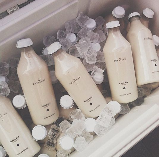 I ditched dairy and decided to swap it out for Almond milk - will NEVER look back! www.retreatsinyourhome.com