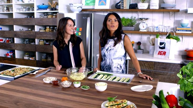 Minutes futées : Zucchinis farcis