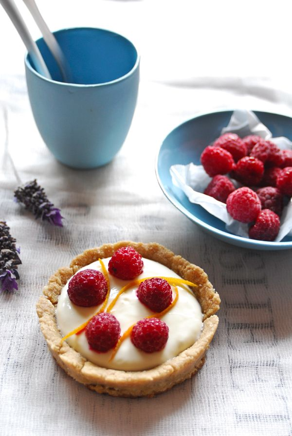Lavender Infused Raspberry Tartlets. Want to win the Mesquite Powder used in this recipe? Check out https://www.facebook.com/sallyjoseph.nutritionandwellbeing/app_522008621164365